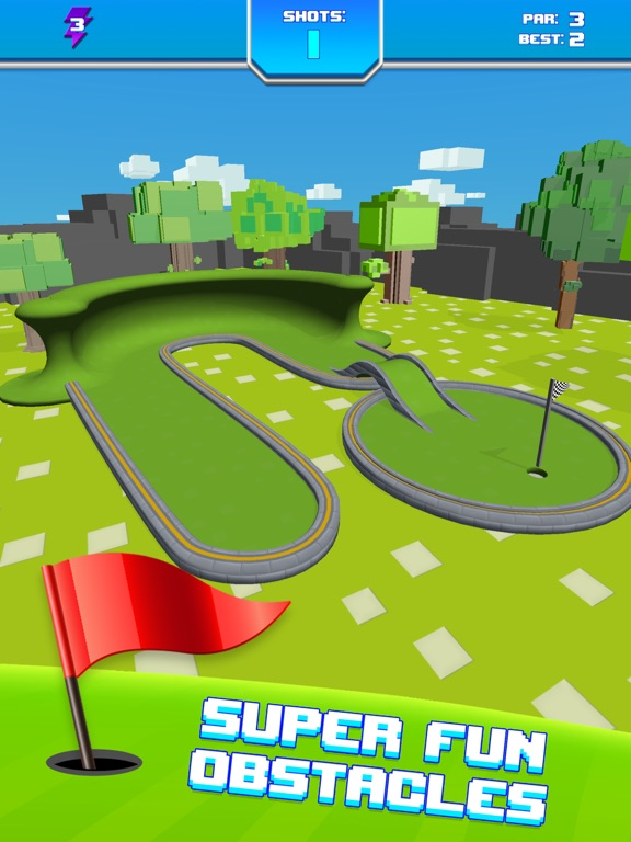 Mini Golf Star Retro Golf Game Скриншоты11