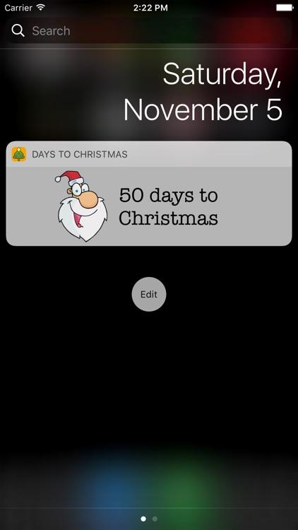 Days to Christmas screenshot-4