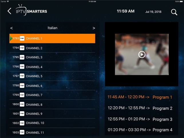 IPTV-Smarters Player on the App Store
