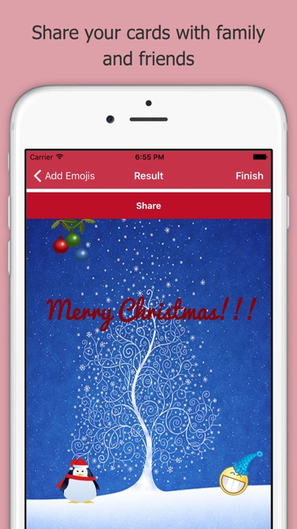 Merry Christmas Cards New Year screenshot-3
