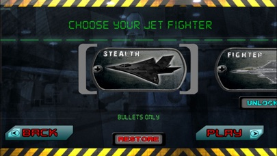 Tactical Fighter Jet X 3D Screenshot on iOS