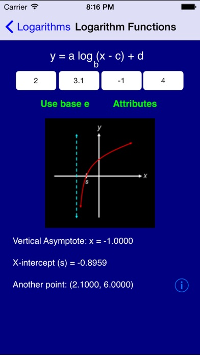 Algebra Pro Screenshots