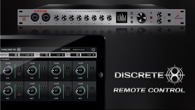 Discrete 8 Remote