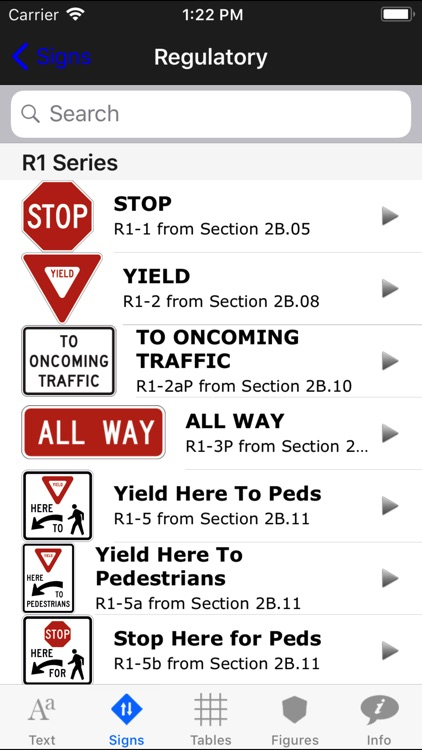 MUTCD app screenshot-1