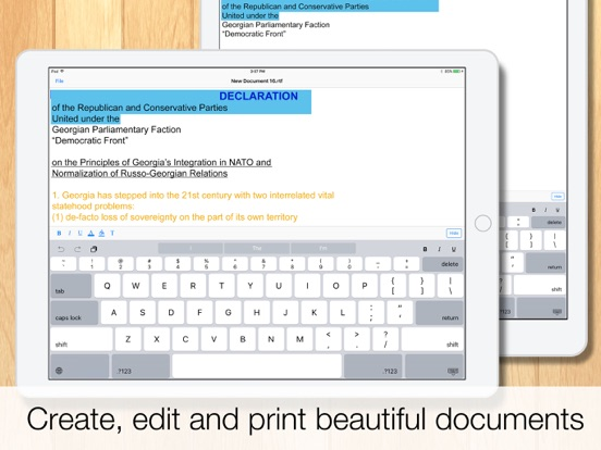TextEditor : Plain & Rich Text Editor and Word Processor screenshot