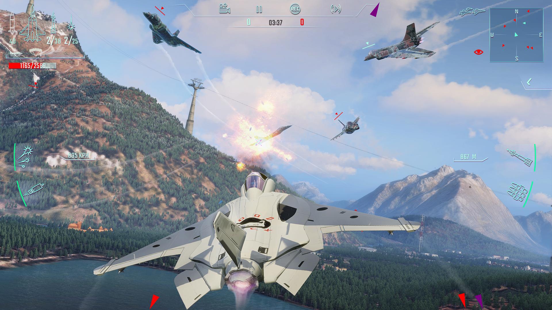 Sky Gamblers - Infinite Jets screenshot 12