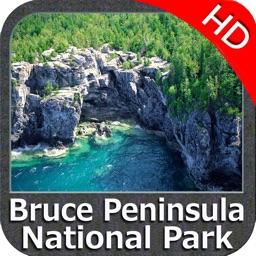Bruce Peninsula NP HD GPS charts Navigator