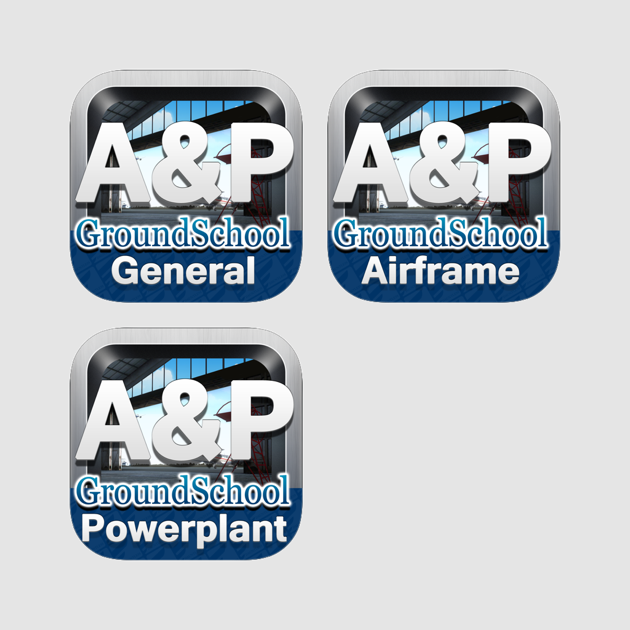 ‎FAA Written Test Prep - Aviation Mechanic Bundle - General, Airframe, and  Powerplant