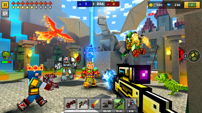 pixel gun 3d play for free online