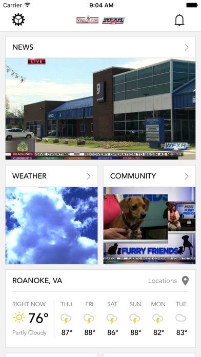 download WFXR News VirginiaFirst.com apps 0