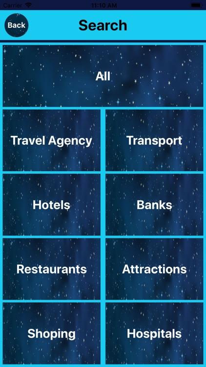 Tourist Travel Offline maps screenshot-3