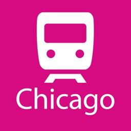 Chicago Rail Map