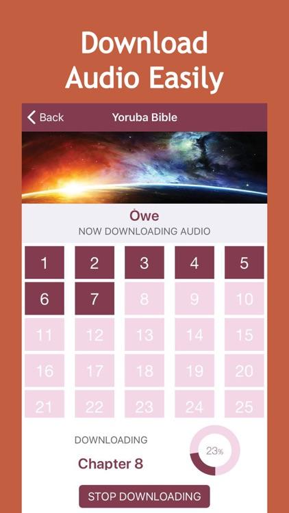 Yoruba Audio Bible screenshot-3