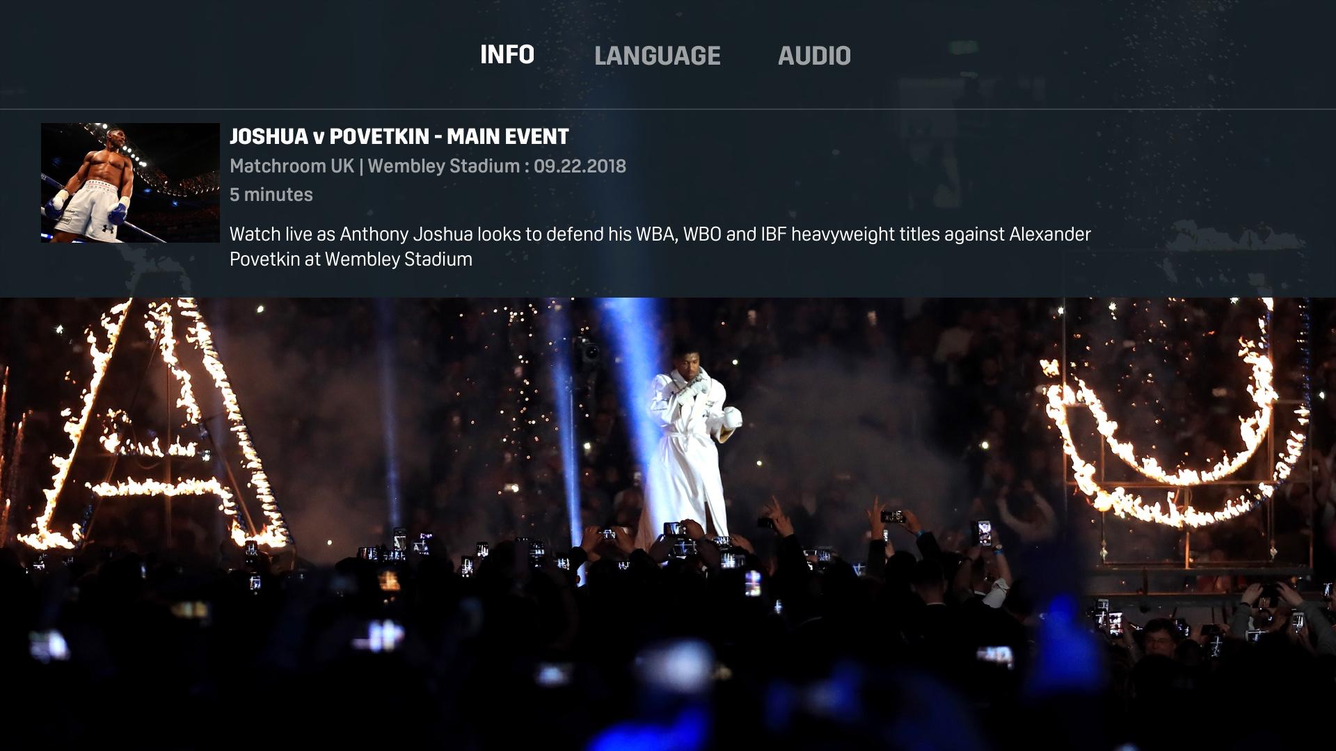 DAZN: Live Sports Streaming screenshot 15