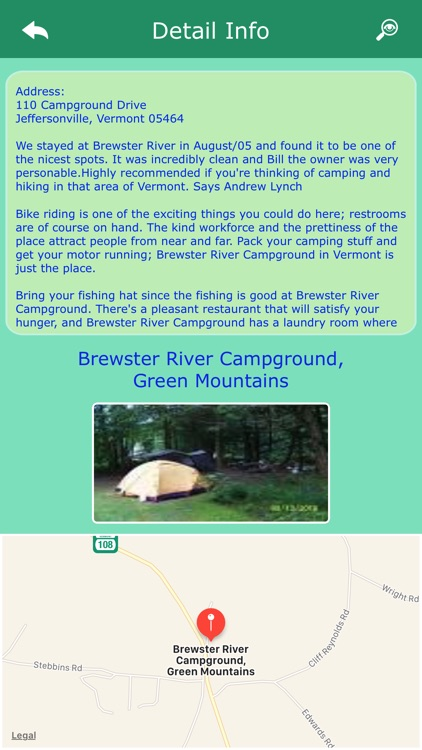 Vermont Campgrounds & Parks screenshot-2