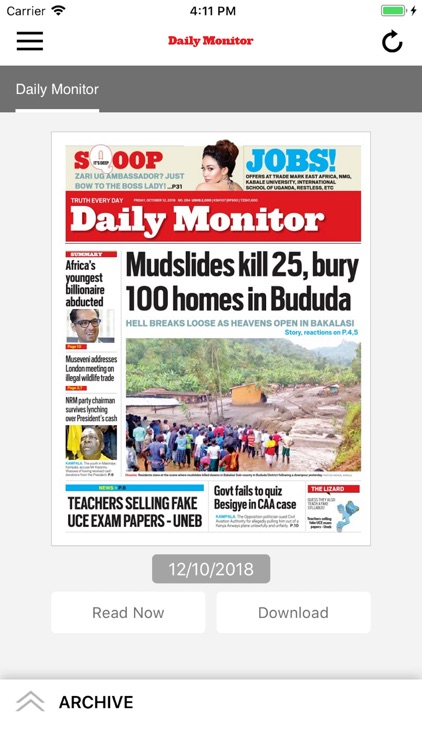 Daily Monitor Epaper App by Nation Media Group Ltd