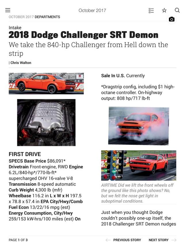 Motor Trend Magazine on the App Store