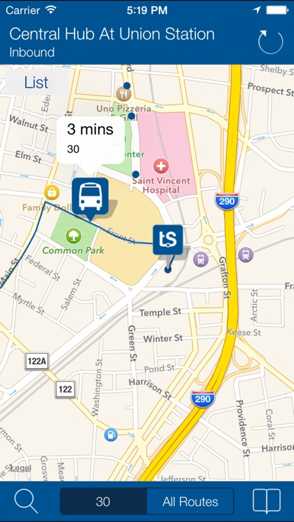Transit Stop:WRTA Bus Tracker screenshot-1