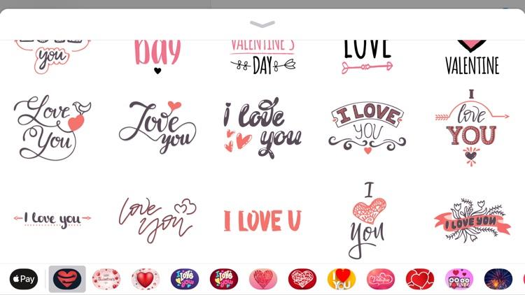 Love Valentines Day Sticker 14 screenshot-3