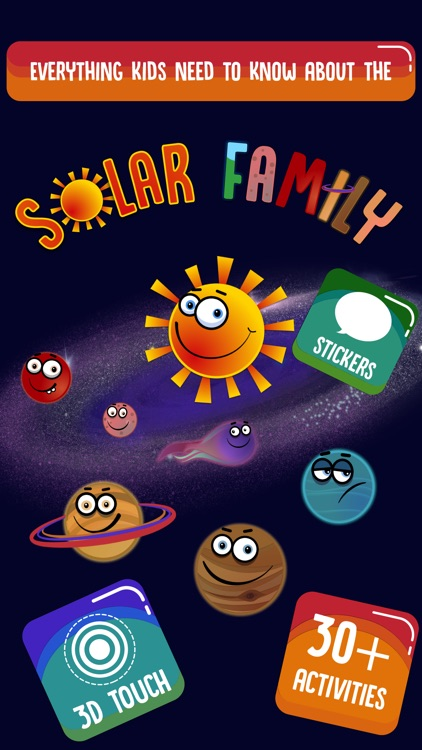Solar Family: Planets for Kids screenshot-0