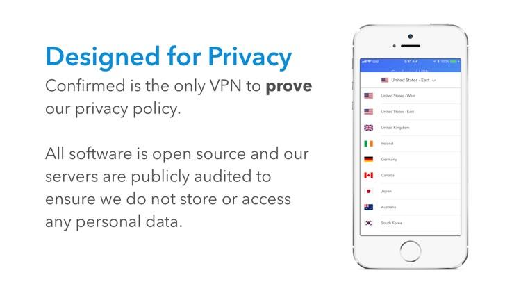 Confirmed VPN