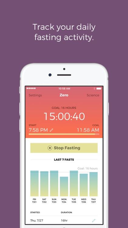 Zero fasting app android