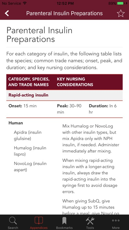 Nurse's Drug Handbook screenshot-2