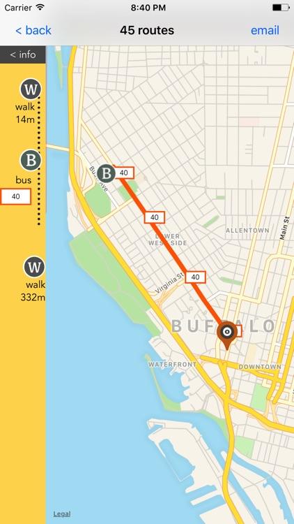 Buffalo Travel - Public Transport Guide screenshot-3