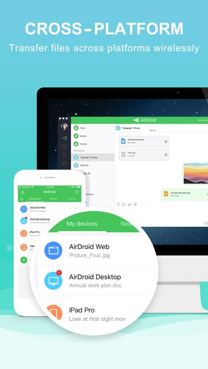 AirDroid - File Transfer&Share screenshot-1