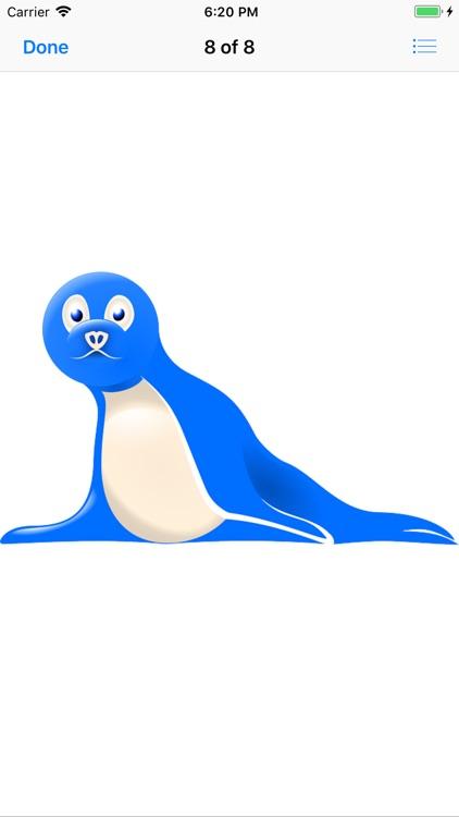 Slippery Seal Stickers screenshot-8
