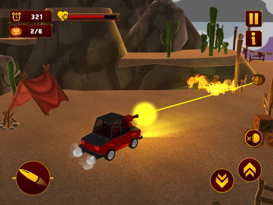 Scary Halloween Shooting Car screenshot 6