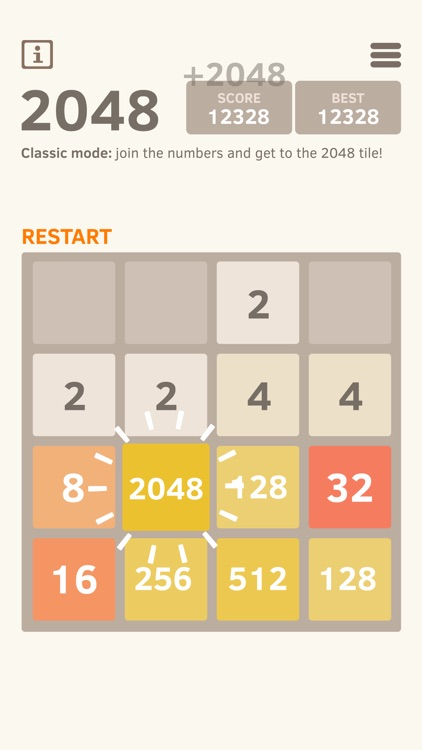 2048 Number Puzzle game screenshot-0