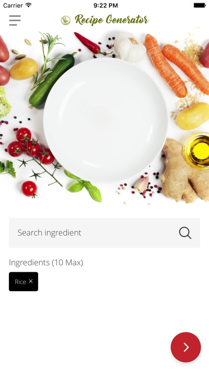 Recipe Generator screenshot-0