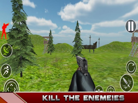 Army Attack - Strike Gun screenshot 4