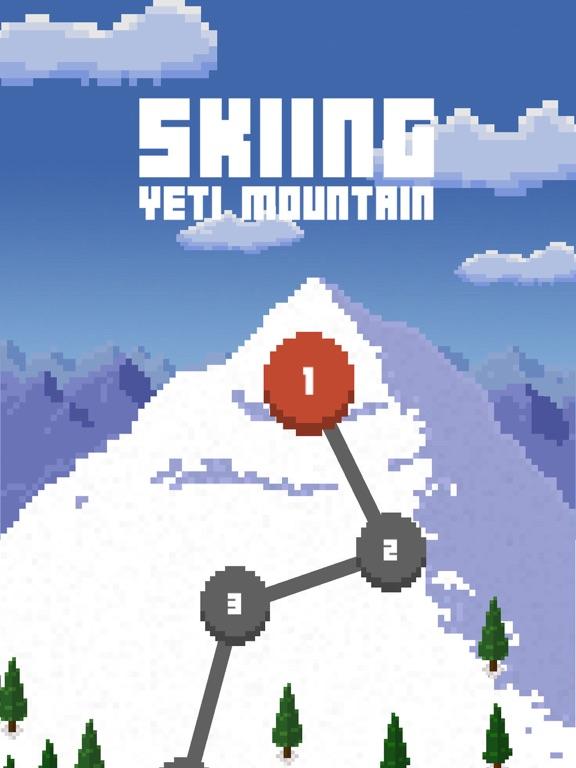 Skiing Yeti Mountain на iPad