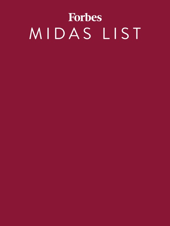 Forbes Midas List screenshot 3