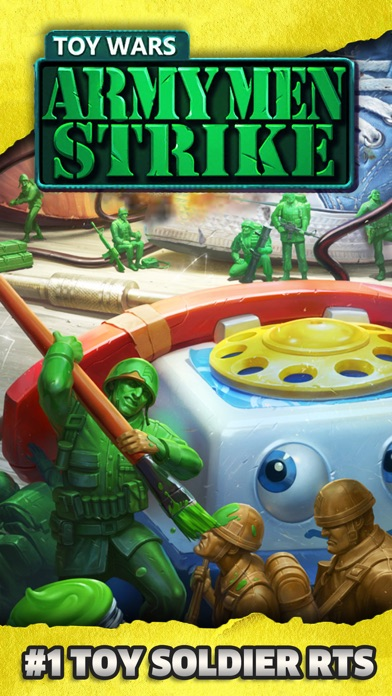 Download Army Men Strike: World War 2 for Pc