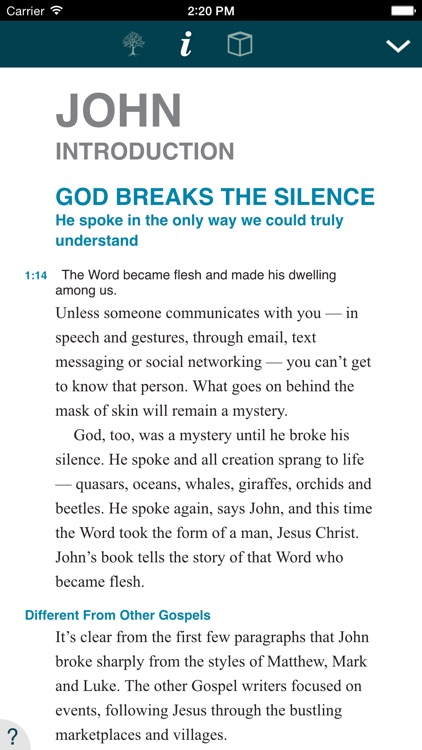 NIV Student Bible screenshot-2