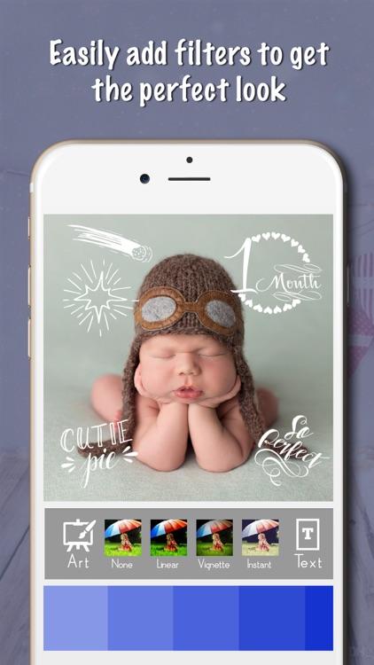 Baby Milestones Sticker Pics