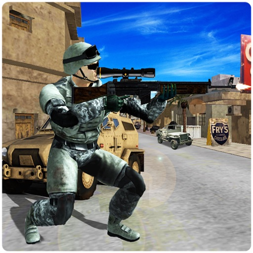 Modern Fatal Commando in Top Ambush 3d