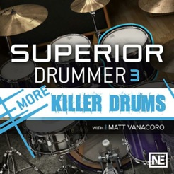 ‎Drums For Superior Drummer 3