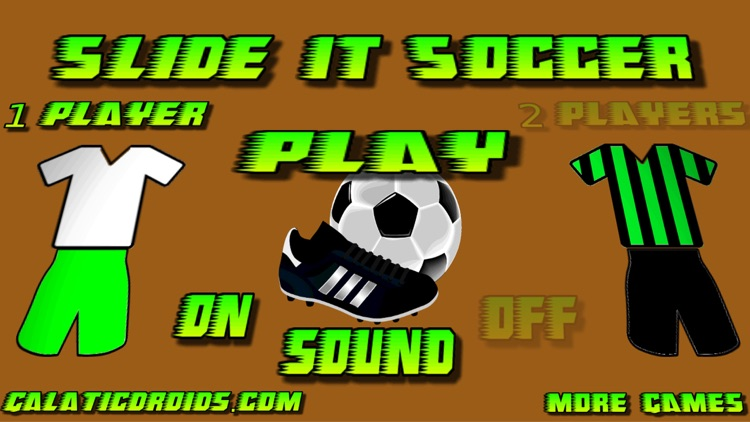 Slide It Soccer table football screenshot-0