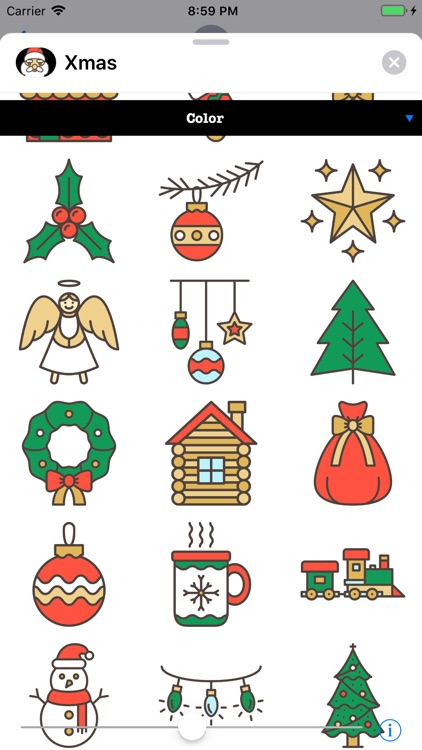 Xmas Stickers 4 Christmas