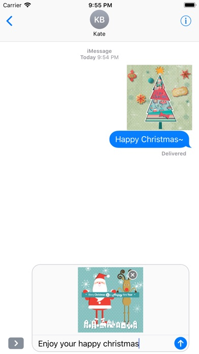 Animated Christmas Stickers - screenshot 5