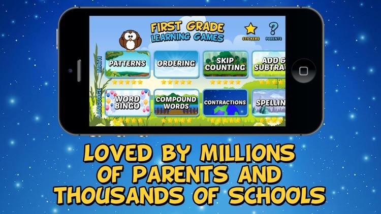 First Grade Learning Games (School Edition) screenshot-4