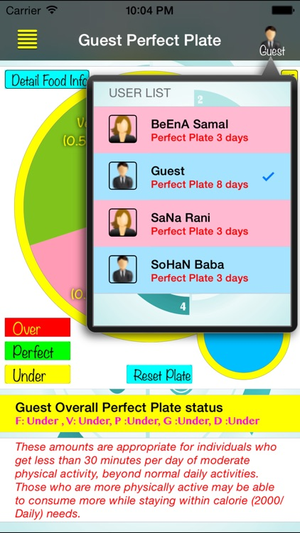 Perfect Plate screenshot-1