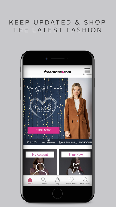 Freemans - Fashion & Home screenshot three