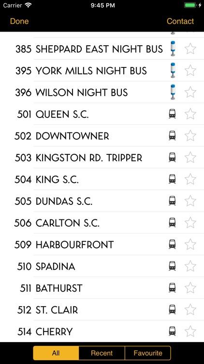 TTC Bus Map screenshot-3
