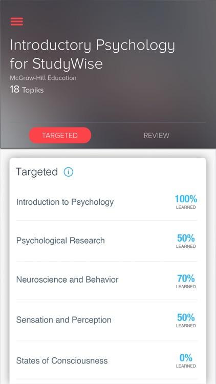 StudyWise Intro. Psychology