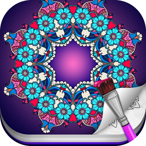 Color Flow  - A Coloring Book
